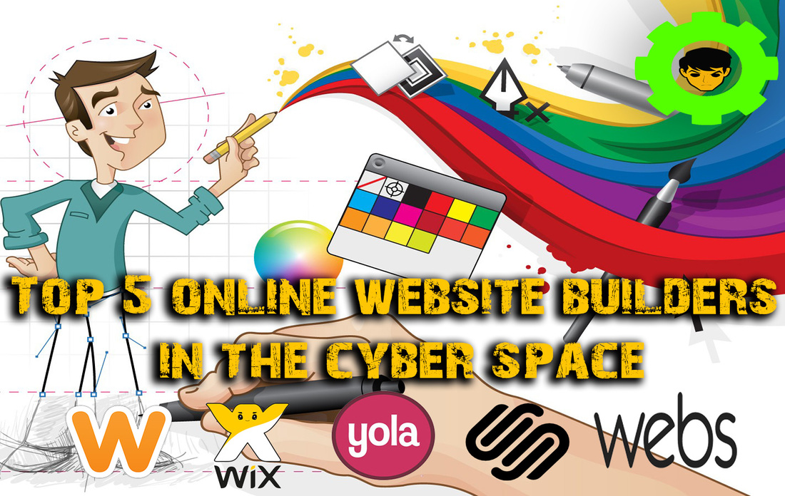 Top 5 online website builders in the cyber space