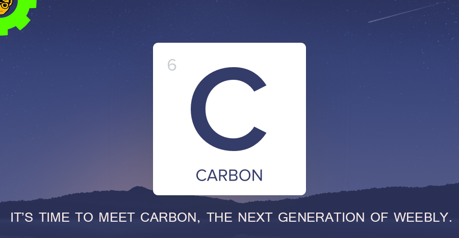 It's time to meet Carbon, the next generation of Weebly