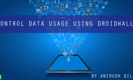 Control Data Usage using DroidWall