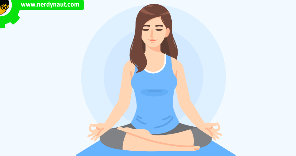 Meditations for Beginners woman