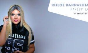 Khloe Kardashian Makeup Look