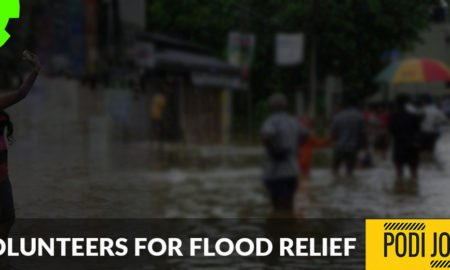 Volunteers for Flood Relief