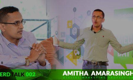 NerdTalk 002 - Amitha Amarasinghe - Digital Marketing Professional - Nerdynaut
