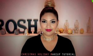 Christmas Holiday Makeup Tutorial - Nerdynaut