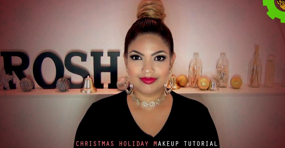 Christmas Holiday Makeup Tutorial - Nerdynaut