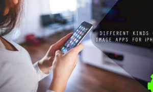 Different Kinds of Image Apps for iPhone