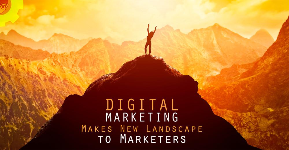 Digital Marketing Makes New Landscape To Marketers Nerdynaut