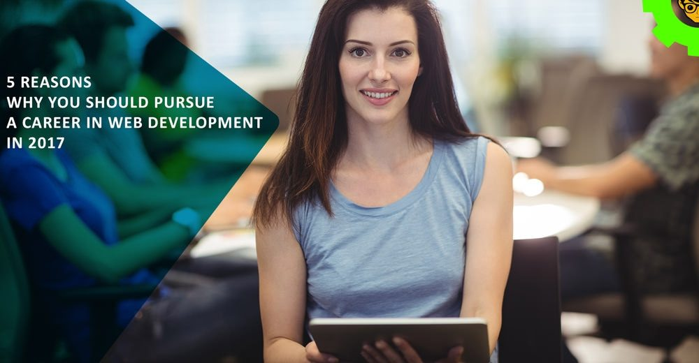 5 Reasons Why You Should Pursue a Career in Web Development in 2017