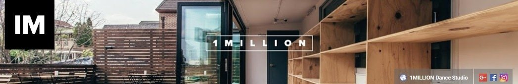1MILLION Dance Studio Youtube