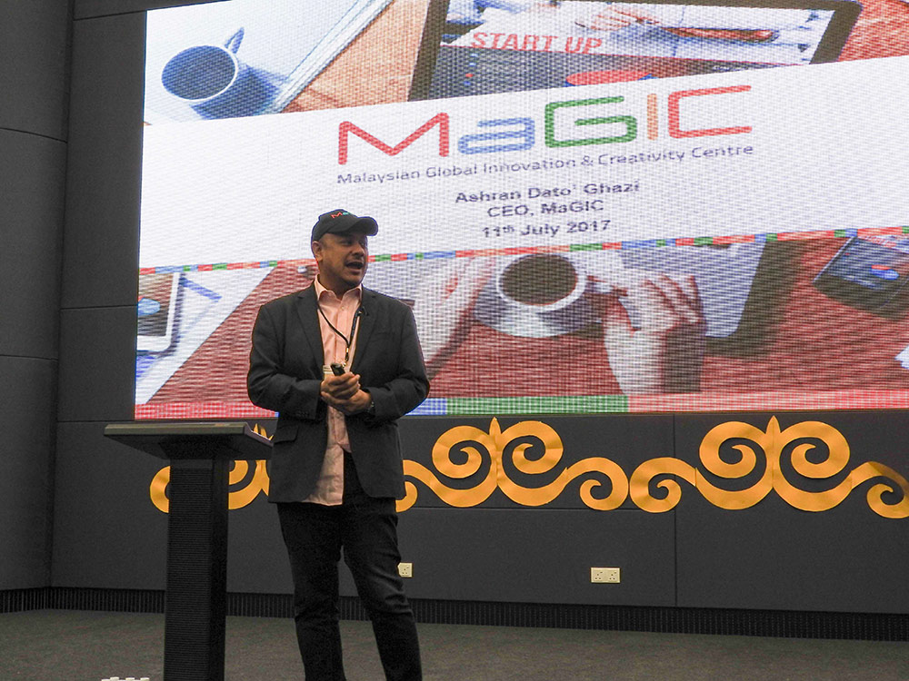 APU's IoT Innovation saw participation from top IoT industry players, including MaGIC CEO, Ashran Dato' Ghazi.