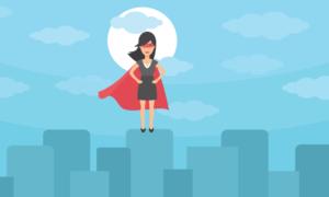 Super Woman 1 Nerdynaut
