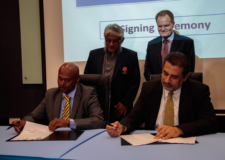 Malaysian Cricket Association & Asia Pacific University sign MoA today to establish Cricket Center of Excellence