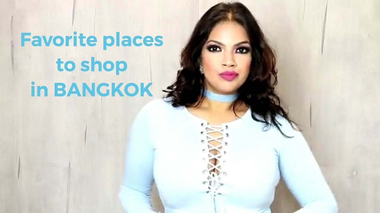Places to shop in bangkok