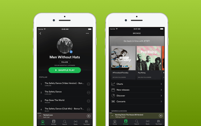 Spotify App Music