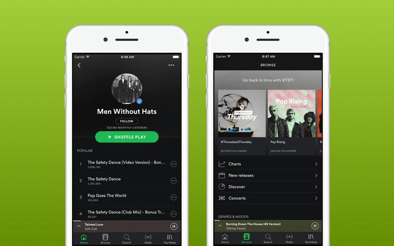 Spotify Music Arrangements
