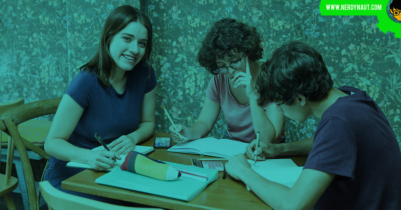 Writing an essay with friends