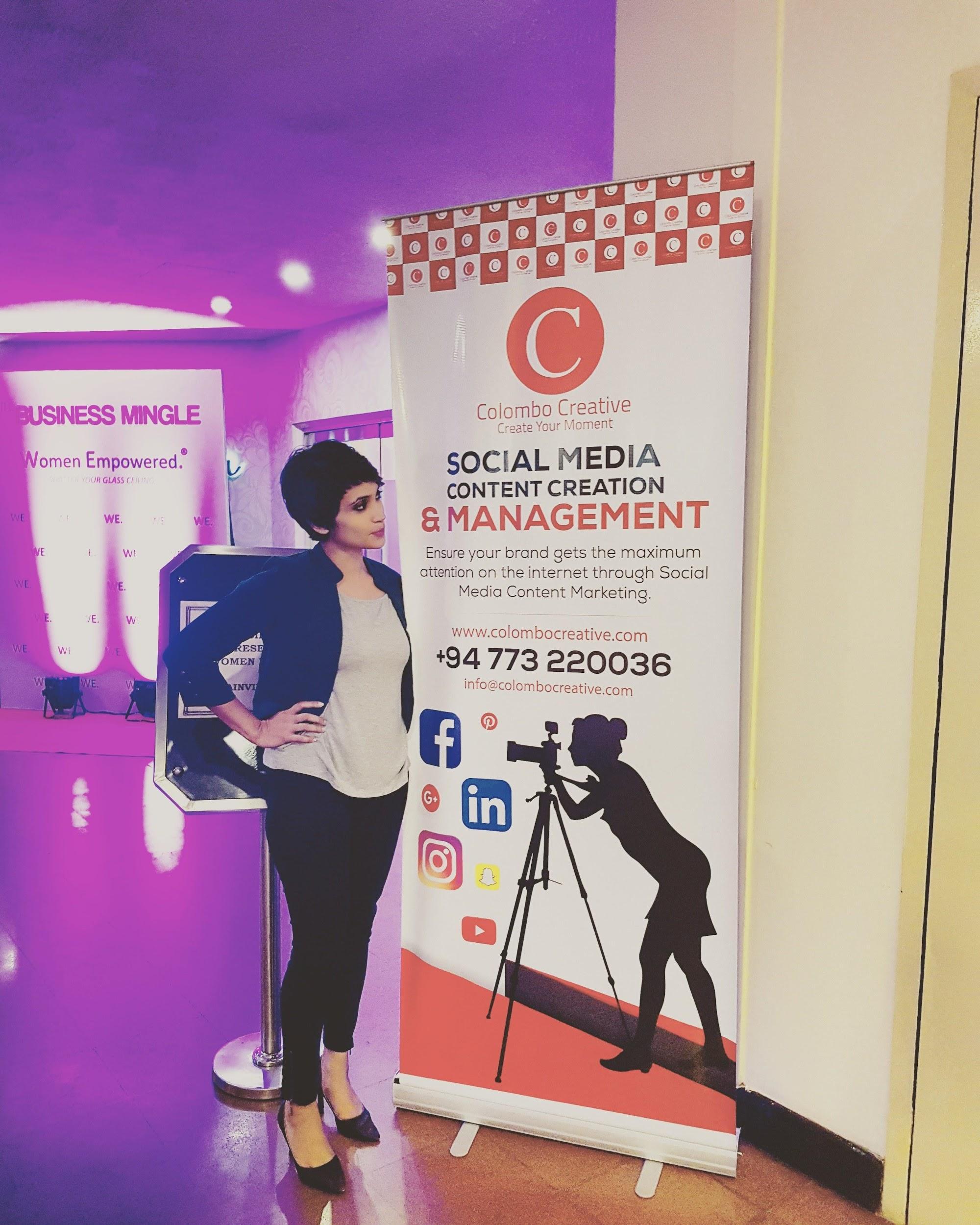 Miuru at Social media event