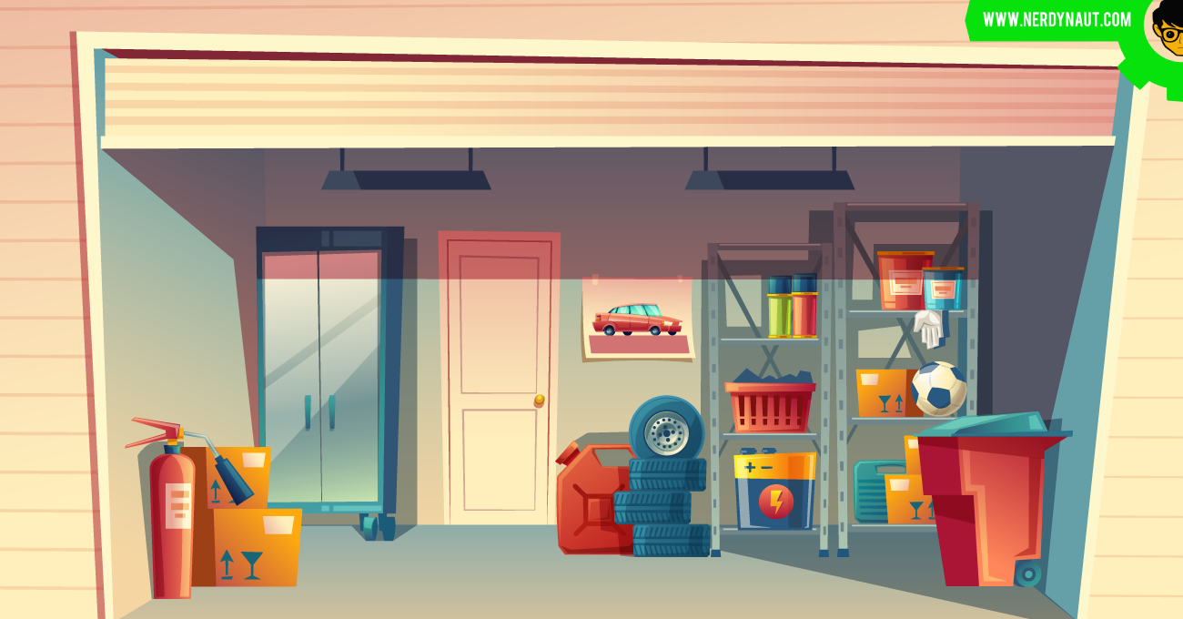Tools in your Garage at home