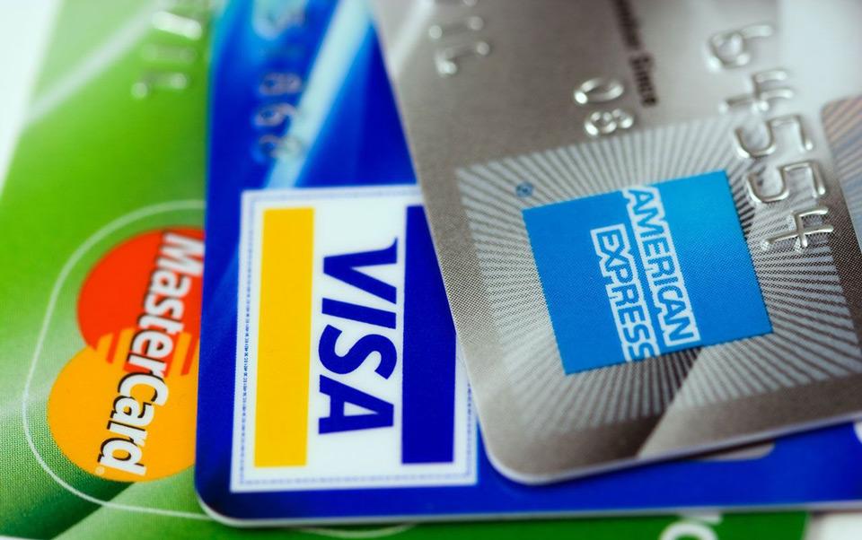 Visa, Master, Amex Cards