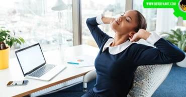 Woman having a profitable blog