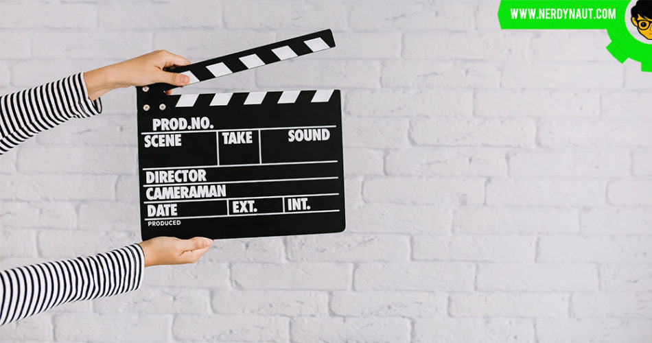 Video movie clapper