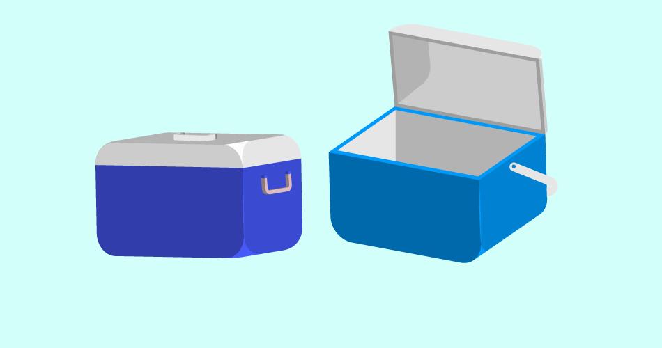 rotomold ice cooler