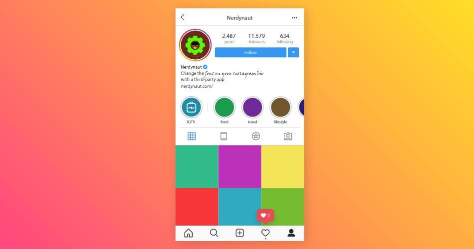 How to Change the Font on Your Instagram Bio with a Third-party App