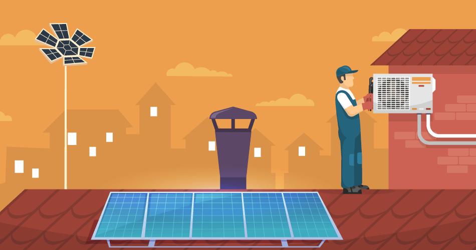 Solar-Powered AC