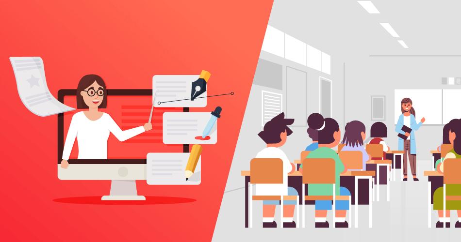 Teaching Online vs. Teaching in the Classroom