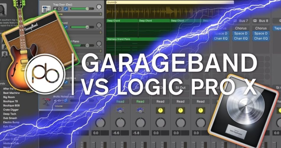 """How is It Different from the Greatly Evolved """"Logic Pro X"""" GarageBand Live Loops"""