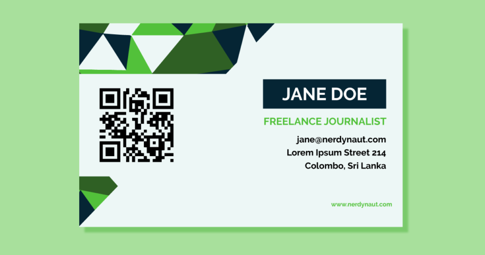 How QR Code Impacts Effectiveness of a Business Card