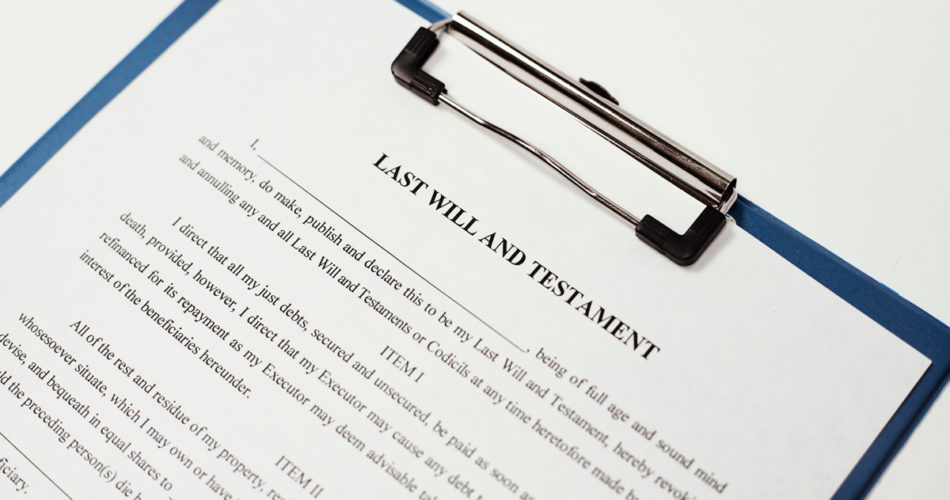 Writing a Will Online