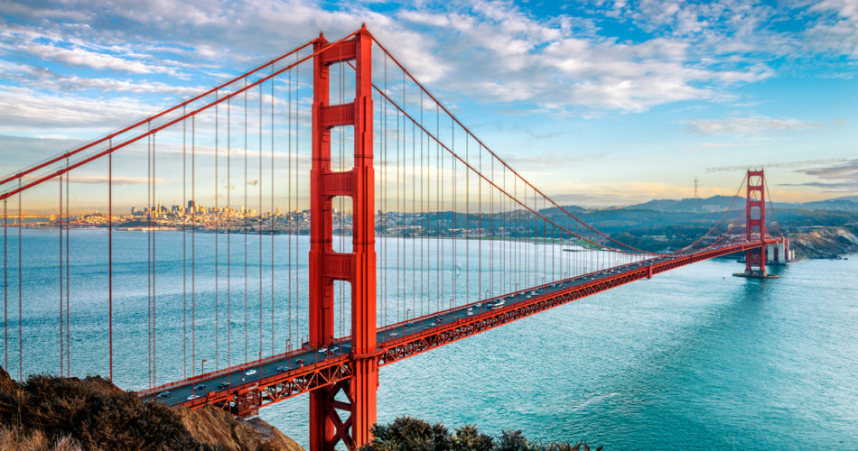 Fantastic Places Across the USA You Need to See San Francisco Golden Gate Bridge