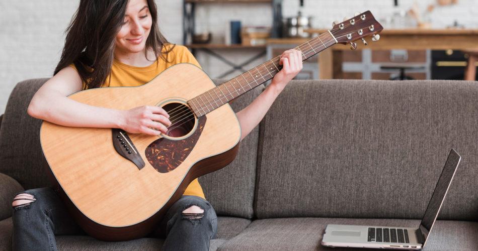 Guitar Practice Session