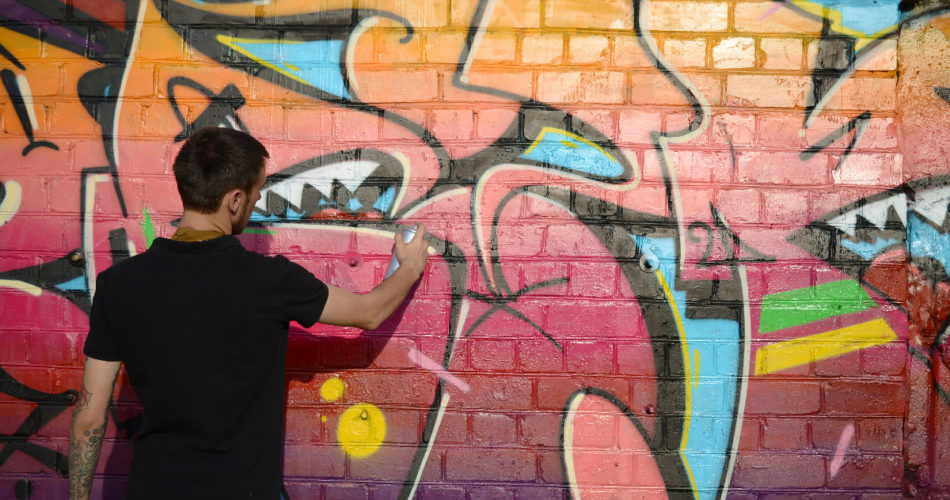Getting Rid of Graffiti Can Be a Big Fuss Sometimes: Here's How to Do It