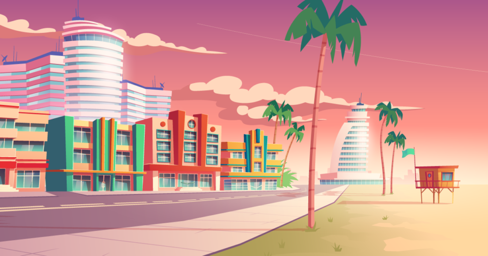 A Week in Miami on a $55,000 Salary